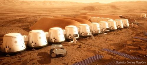 Mars-One Settlement