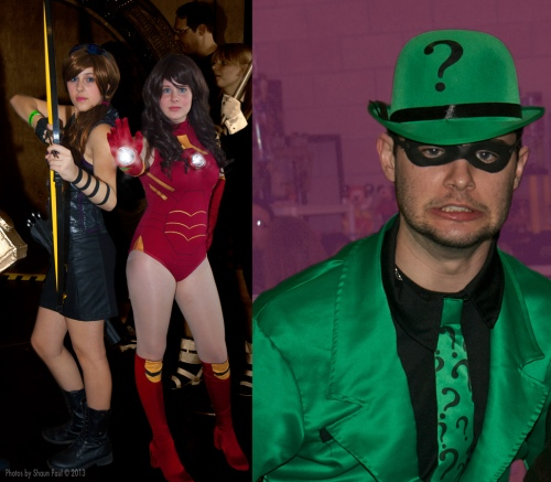 Riddle me this: When is Iron Man like a rock band? When he's an Iron-Maiden.