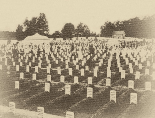 Soldier's Home National Cemetery - 1864