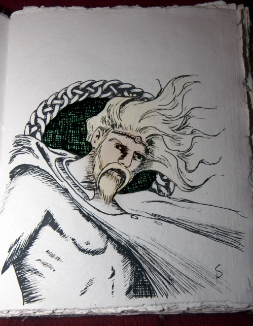 Lugh: Pen & Ink