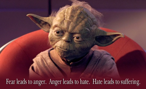 Hey look, it's Yoda.
