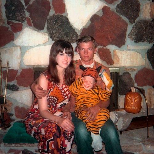 Childhood, Halloween, Nostalgia, Tiger Costume