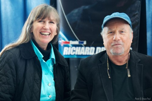 Mom with Richard Dreyfuss