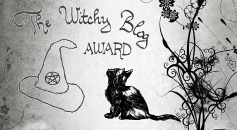 Witchy Blog Award Logo
