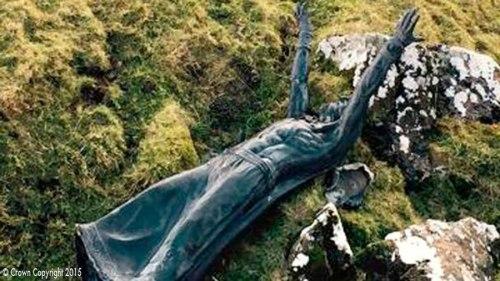Fallen Statue Found