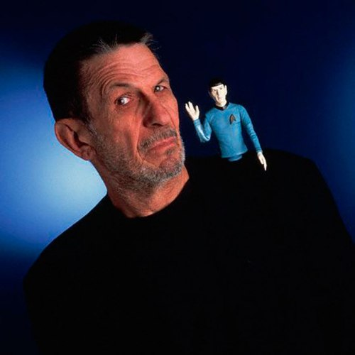 Nimoy and Spock