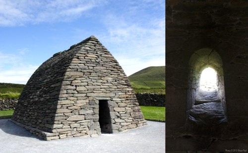 Gallarus Oratory, Co. Kerry, Ireland.