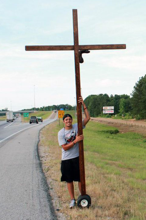 Wheeled Cross